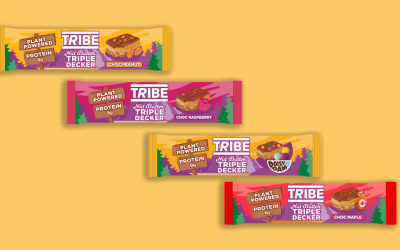 Tribe Nut Butter Triple Deckers: Be A Force Of Nature!